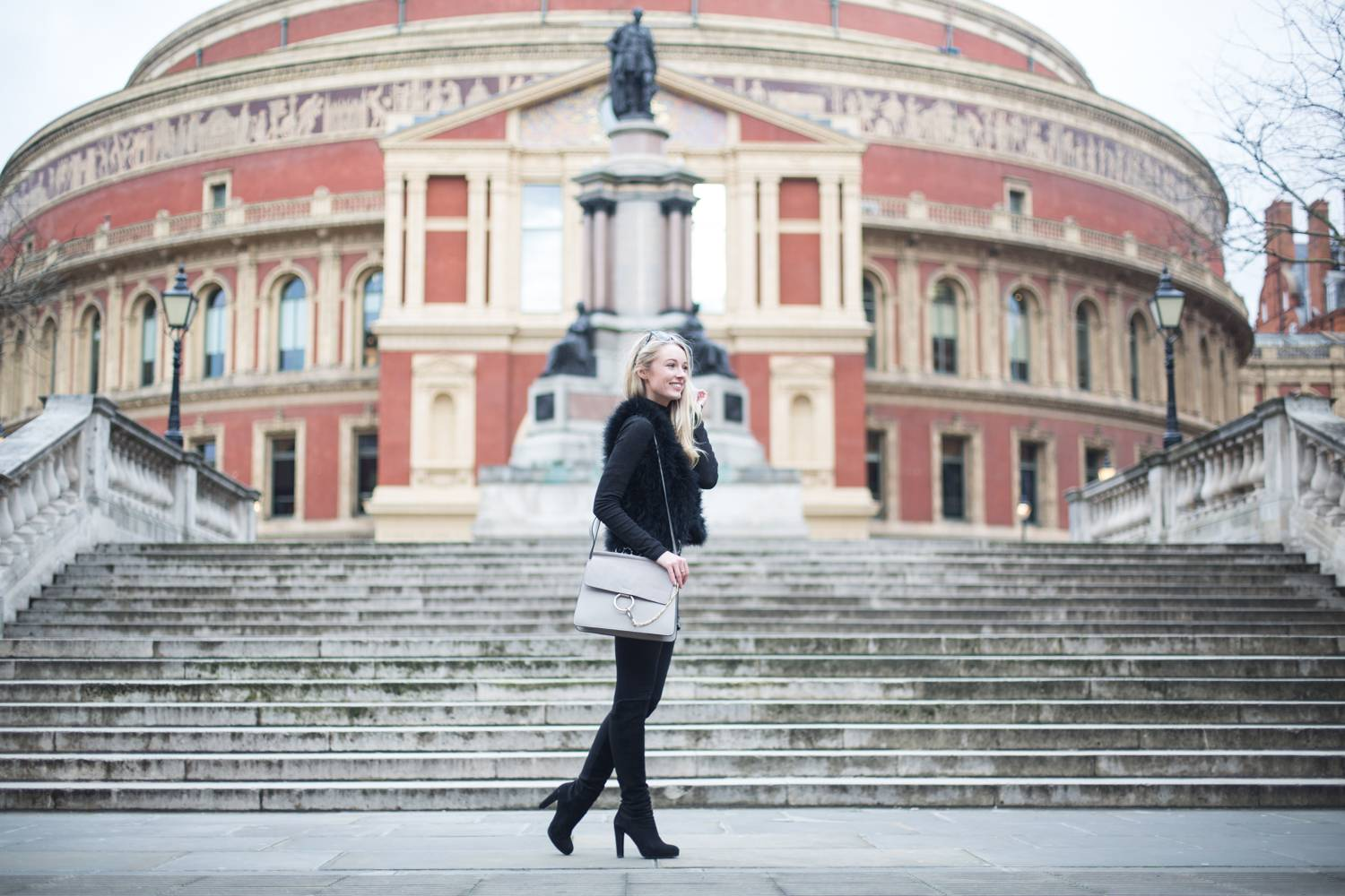 Fashion Mumblr, 60s Albert Hall OOTD - Chloe Faye Dupe, Topshop, Russell & Bromley