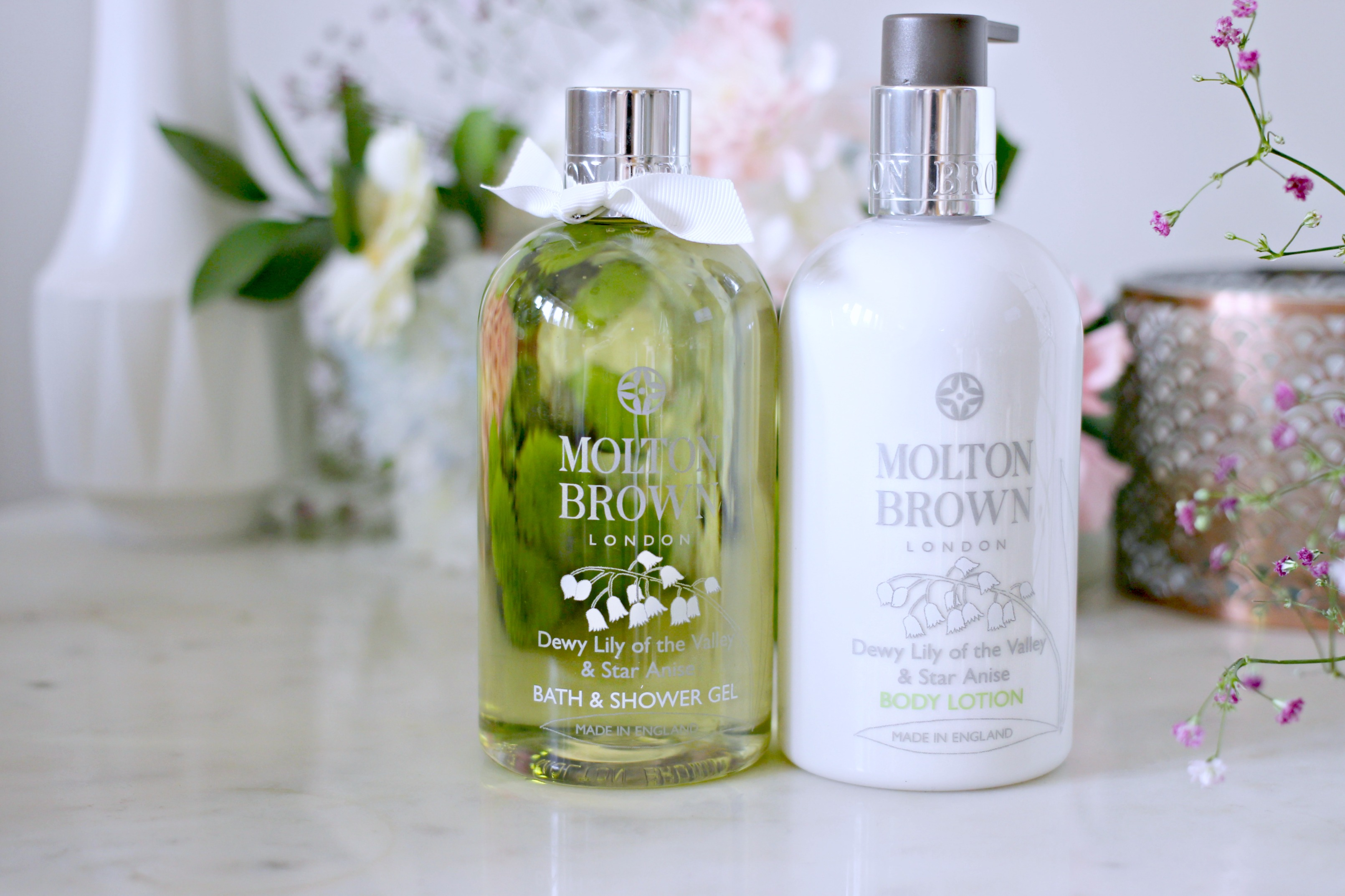 Luxury Mothers Day Gift Guide - Fashion Mumblr blog Molton Brown Lily of the Valley