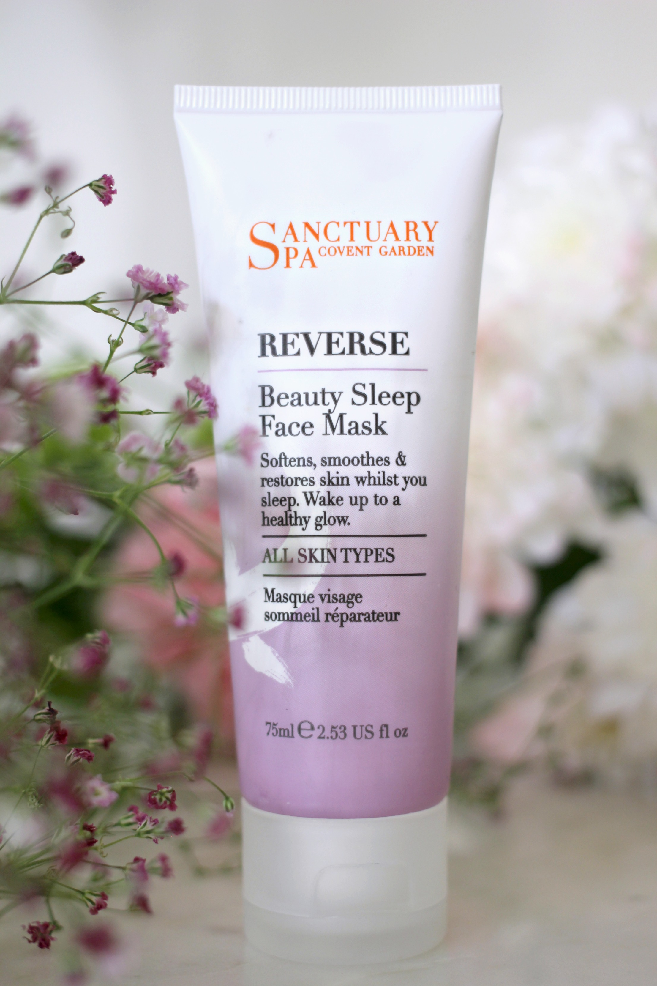 Sanctuary Spa Beauty Sleep Face Mask Review