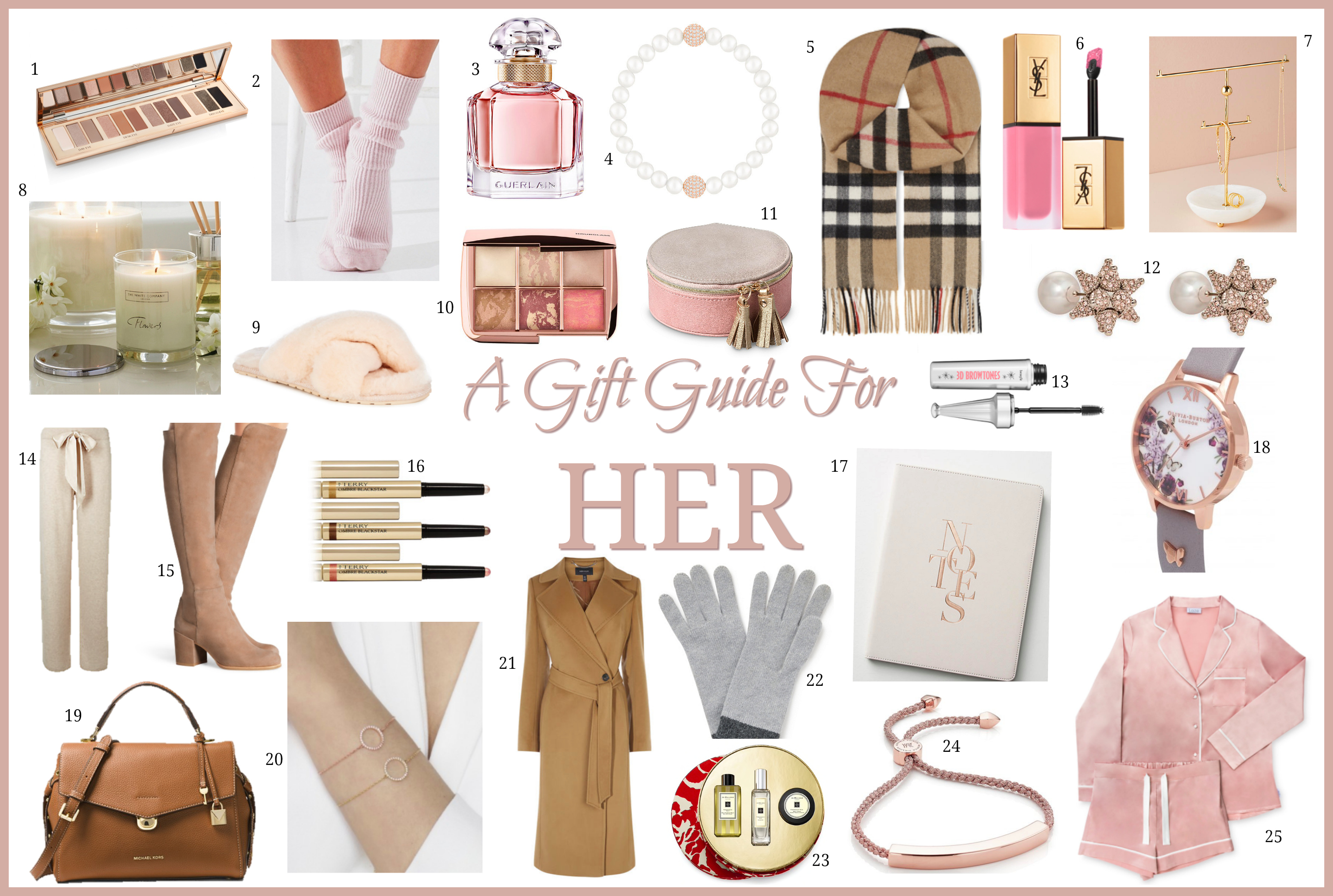 Christmas Gift Guide For Her Fashion Mumblr