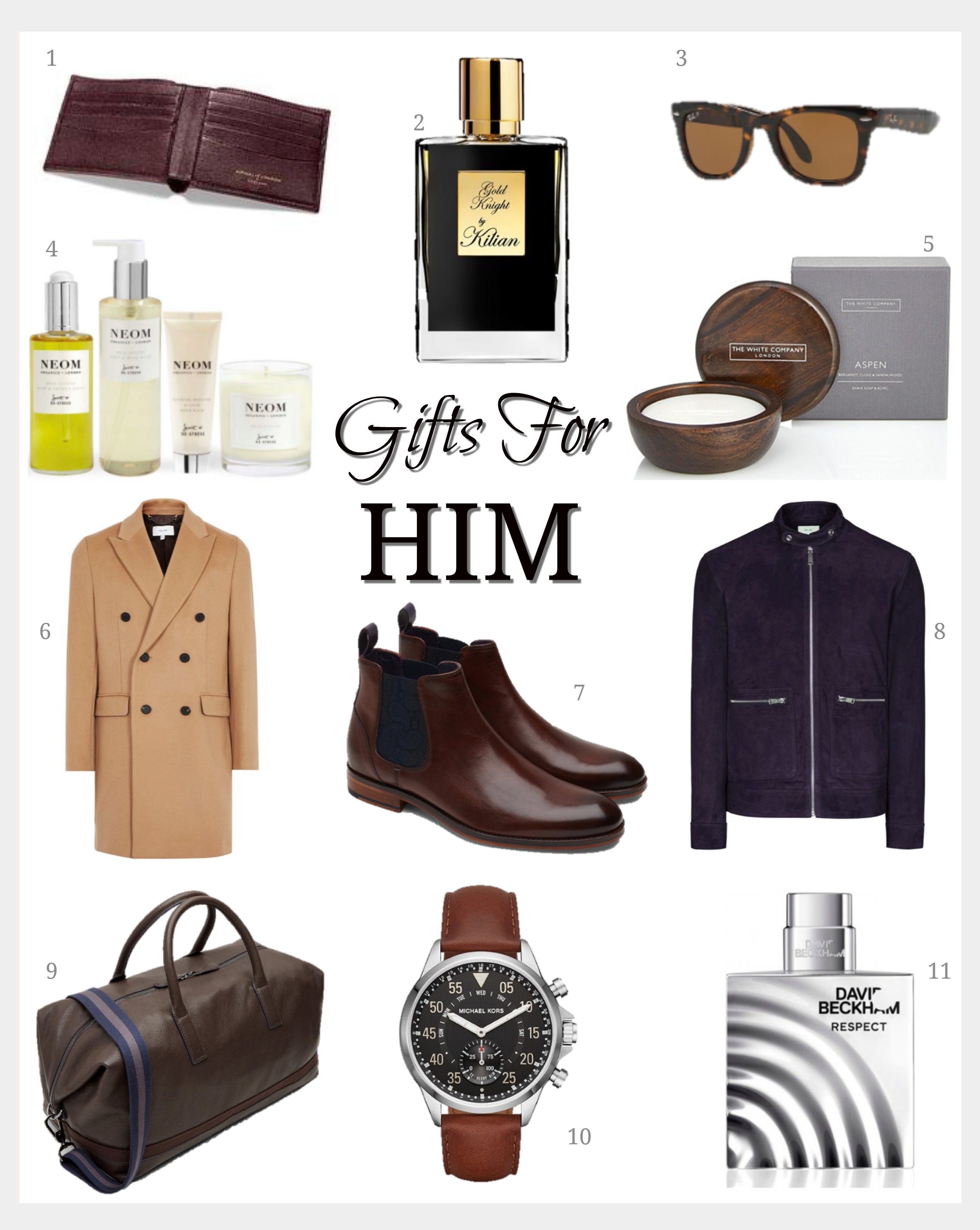 Christmas Gift Guide for Him - Fashion Mumblr