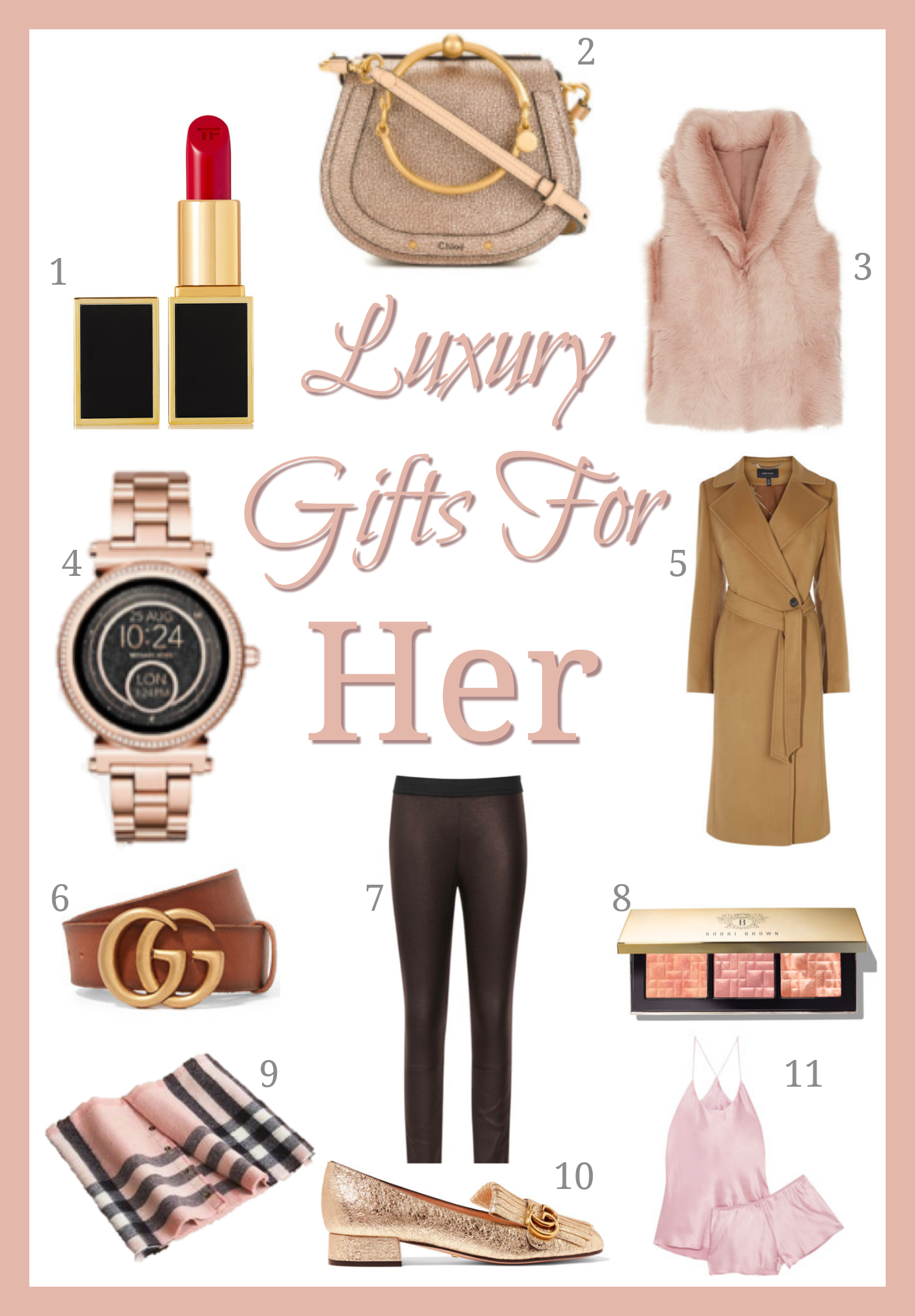 gifts for her the luxury edit fashion mumblr